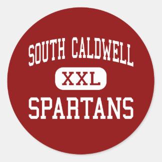 南Caldwell - Spartans -高ハドソン ラウンドシール