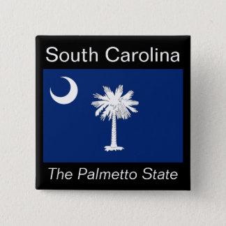 南Carolinianの旗ボタン 缶バッジ