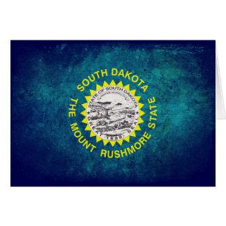 南Dakotan旗 カード