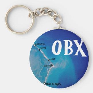 南OBXの地図 ベーシック丸型缶キーホルダー