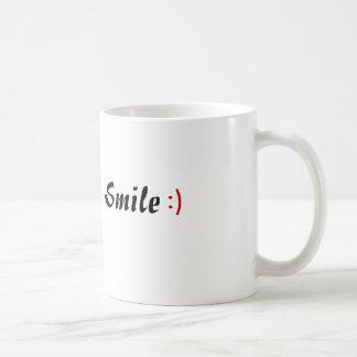 単にスマイル コーヒーマグカップ