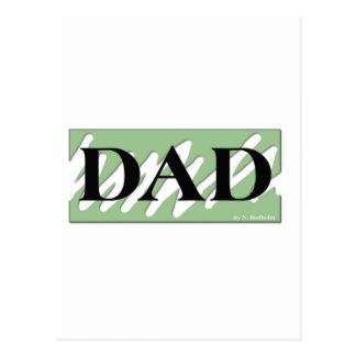 単にパパ ポストカード