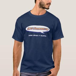 単に人のスーパーヒーローのTシャツ Tシャツ