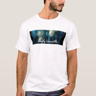 単に抵抗できないティー Tシャツ