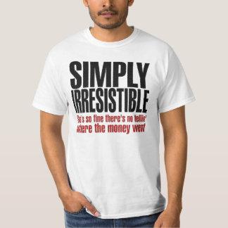 単に抵抗できない Tシャツ