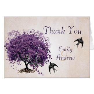 単に桃色のデキセドリン錠の木の結婚式は感謝していしています カード