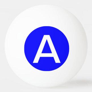 単に青い無地 卓球ボール