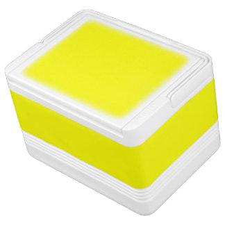 単に黄色い無地 IGLOO クーラーボックス