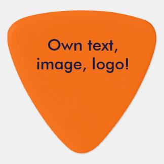 単ギターピックのオレンジ ギターピック