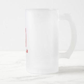単一性強さポールUL.aiポーランドと フロストグラスビールジョッキ