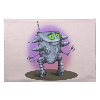 単位のロボット外国モンスターのランチョンマットの布 ランチョンマット