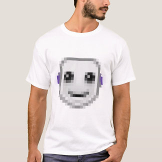 単収縮のスマイル Tシャツ