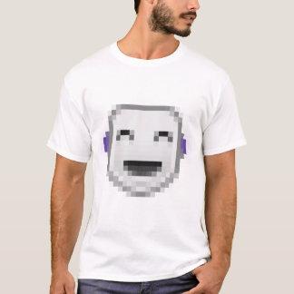 単収縮の幸せなスマイリー Tシャツ