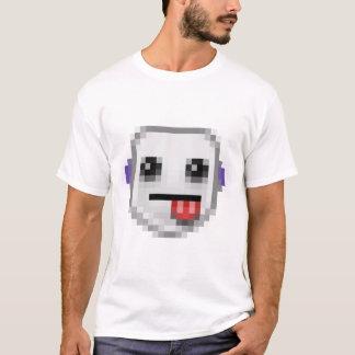 単収縮の😛のスマイリー Tシャツ