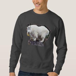 単独で熱狂するでおもしろいなヤギ スウェットシャツ