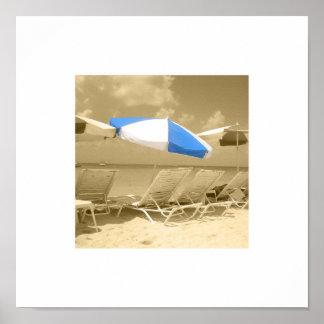 単独の傘 ポスター