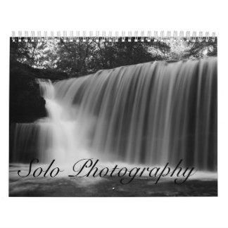 単独の写真撮影 カレンダー