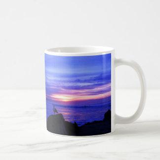 単独カモメ コーヒーマグカップ