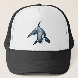 単独シャチのクジラ キャップ