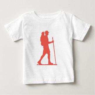単独ハイカー ベビーTシャツ
