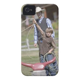 単独山牧場、大きい空、モンタナ、米国 Case-Mate iPhone 4 ケース