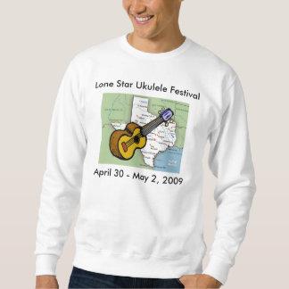 単独星のウクレレのフェスティバルのスエットシャツ スウェットシャツ