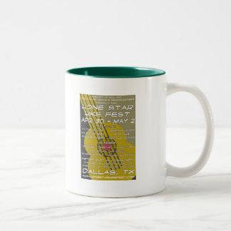 単独星のUkeのFestポスター芸術 ツートーンマグカップ