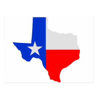 単独星テキサス州 ポストカード