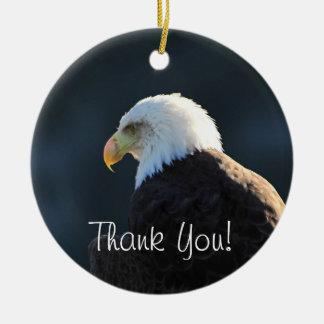 単独白頭鷲; ありがとう セラミックオーナメント
