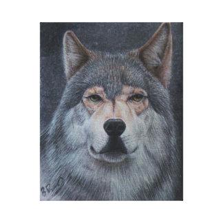 「単独Wolf キャンバスプリント