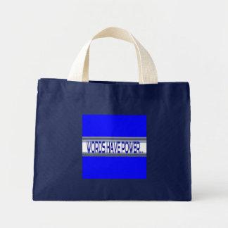 単語に力の衝動のバッグがあります ミニトートバッグ