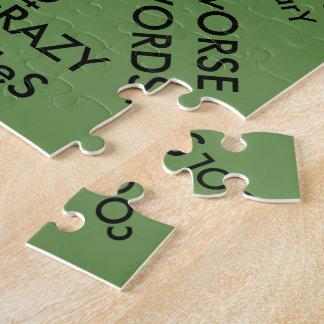 単語のパズル/緑 ジグソーパズル