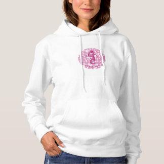 「単語」の女性のプルオーバーのフード付きスウェットシャツ パーカ