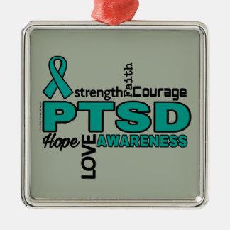 単語… PTSD メタルオーナメント