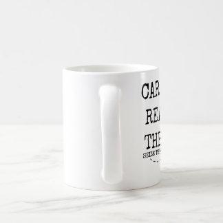 単語CARPEを読みましたそれらに11オンスを握って下さい コーヒーマグカップ