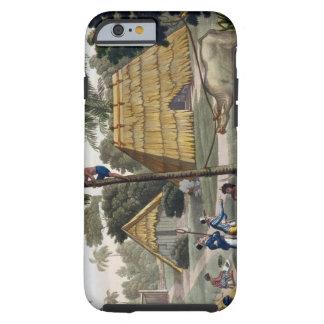博物学者の質問先住民はKupang、ティモール、pに近づきます iPhone 6 タフケース