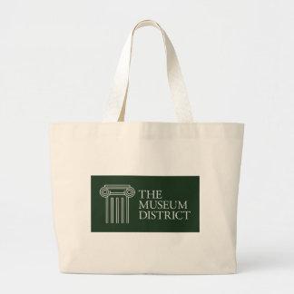 博物館地区のロゴ ラージトートバッグ