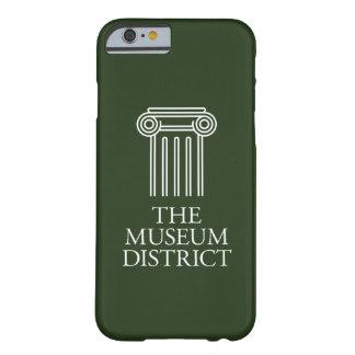 博物館地区のロゴ BARELY THERE iPhone 6 ケース