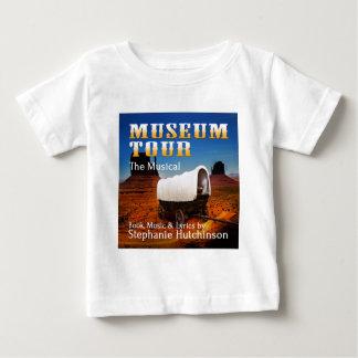 博物館旅行ミュージカル ベビーTシャツ