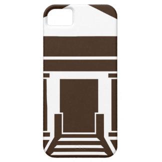 博物館銀行政府の建物アイコン iPhone SE/5/5s ケース