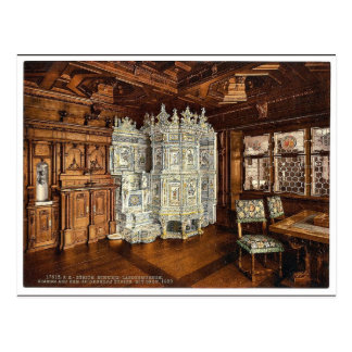 博物館、Seidenhofeからの部屋、オーブンと、Z ポストカード