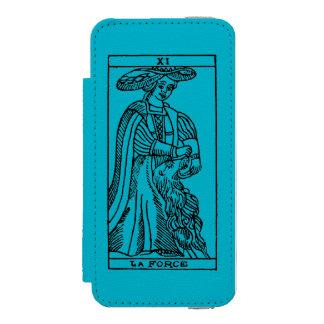 占いカード: 強さ INCIPIO WATSON™ iPhone 5 ウォレット ケース