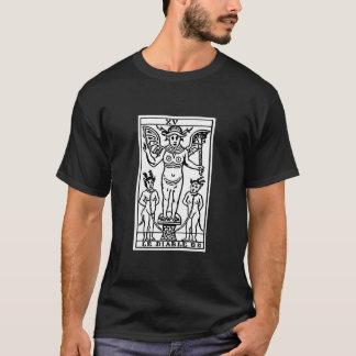占いカード: 悪魔 Tシャツ