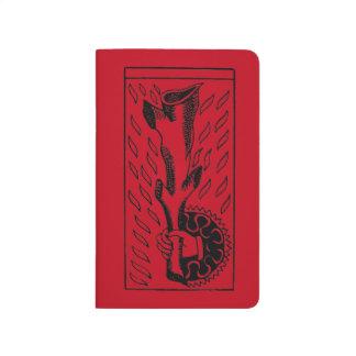 占いカード: 棒のエース ポケットジャーナル