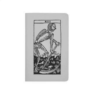 占いカード: 死 ポケットジャーナル