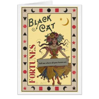 占い師のハロウィンカード カード