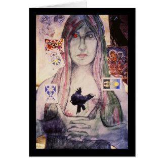 占い師、Brad Ashlock著orignial芸術 カード