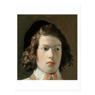 占い師、c.1625 (キャンバスの油) (19を見て下さい ポストカード