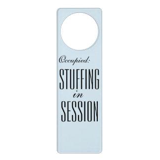 占められる: 会議のFeedistのドア・ハンガーで詰まること ドアノブプレート