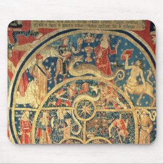 占星術のなタペストリー マウスパッド